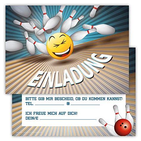 bowling einladungskarten bowlingkugelde