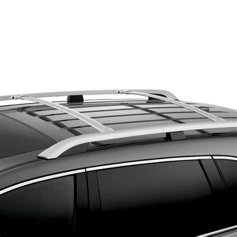 stx  acura roof rack rails silver mdx