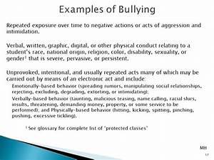 Bullying: Definitions, Illustrations, Prevention, and ...