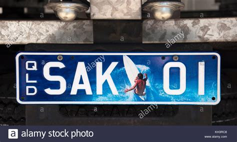 License Plate Australia Stock Photos & License Plate