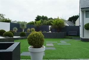 Jardin Paysager Exemple : design tendance jardins divers ~ Melissatoandfro.com Idées de Décoration