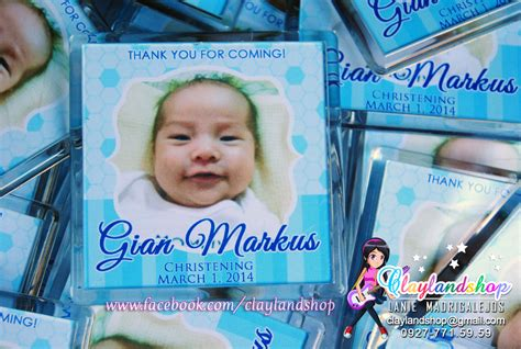 acrylic photo magnets clayland souvenir shop