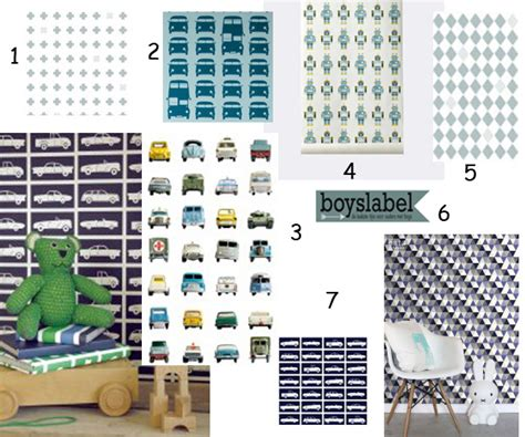 industriele l babykamer blauw behang kinderkamer l blauw op de muur