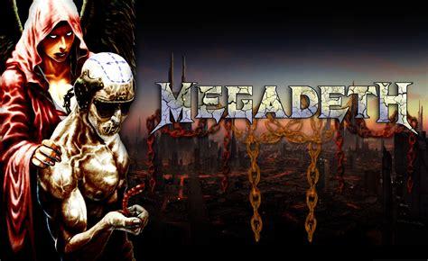 Hd Megadeth Bands Groups Heavy Metal Thrash Hard Rock Album Covers Vic Rattlehead Skulls Widescreen Resolutions Wallpaper