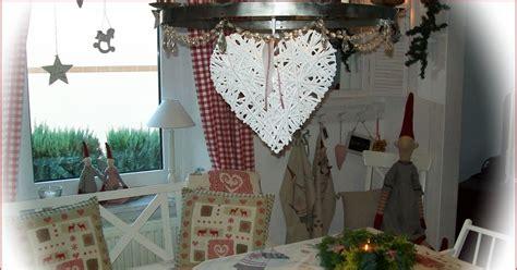 Leinenstoff Mit Weihnachtsdeko Weiß Rot