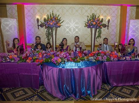 Indian Wedding Sweetheart Table Reception Photo 11911
