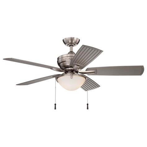 gardinier wink enabled ceiling fan home decorators collection gardinier 52 in led brushed