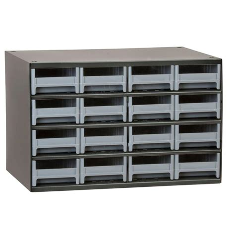 small metal storage cabinet akro mils 16 drawer small parts steel cabinet 19416 the