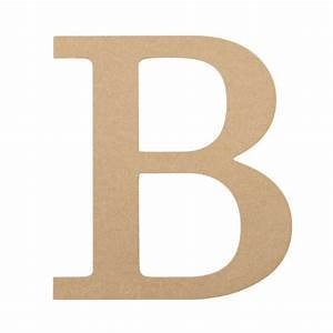 10quot decorative wood letter b ab2026 mardigrasoutletcom With decorative letter b
