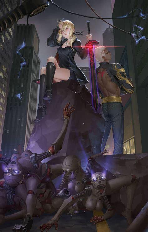 rulers  shinjuku fate anime series fate stay night