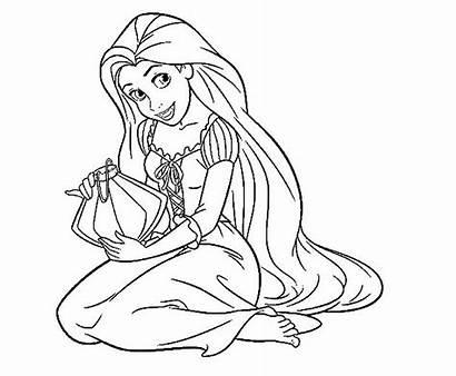 Rapunzel Coloring Pages Princess Repunzel Printable Perfect
