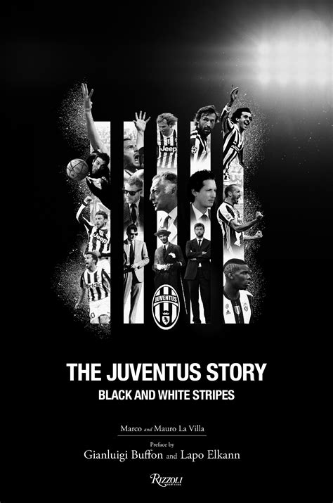 juventus story black  white stripes