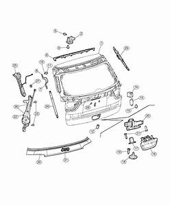 2019 Jeep Compass Applique  License Lamp  Moldingsparkview