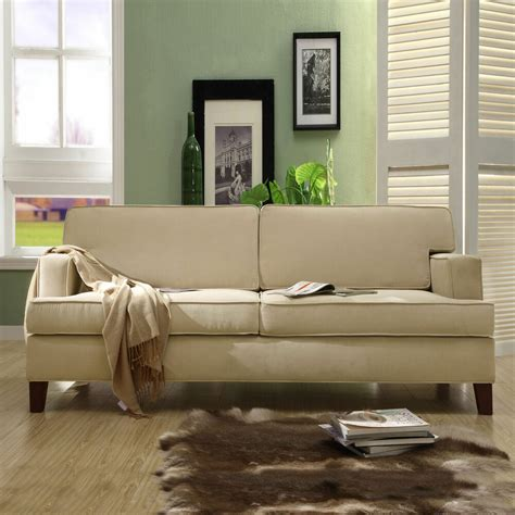 contemporary settee furniture stewart beige track arm modern sofa furniture living room