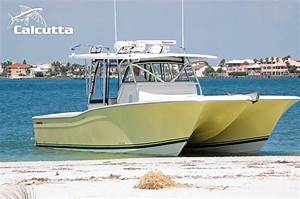 Calcutta 390- Offshore Fishing Catamaran Boat.
