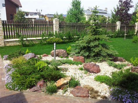 steinbeet im vorgarten anlegen  ideen fuer den steingarten