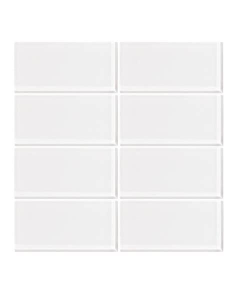 Menards White Subway Tile 3x6 by White 3x6 Glass Subway Tile Vicci Design