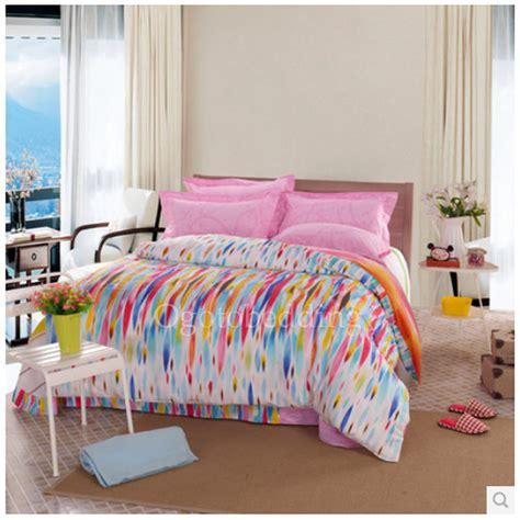 colorful comforter sets best artistic colorful patterned teen bedding sets