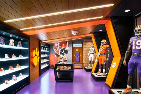 clemson university allen  reeves football operations