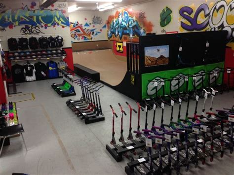 stunt scooter shop scooter alley pro shop inc store pics scooter store scooter rs and trucks