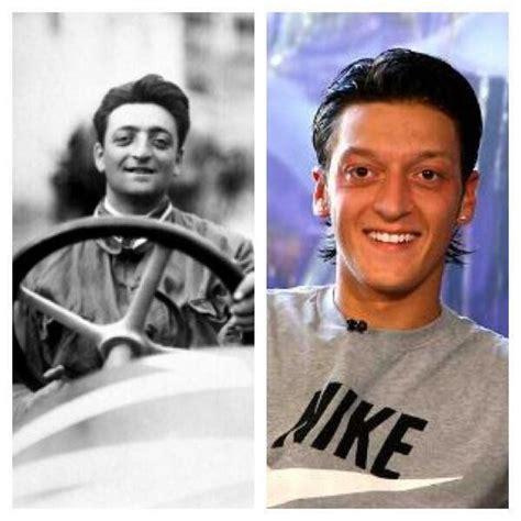 Enzo ferrari died on 14 august, 1988. ¿Crees en la reencarnación? Enzo Ferrari muere en 1988. En el mismo año nace Mesut Ozil