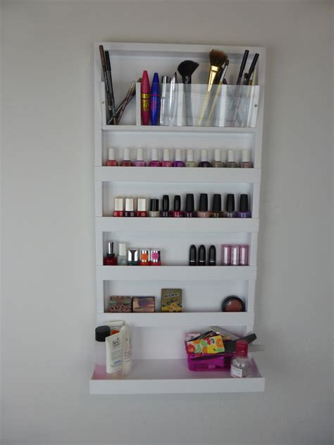 nail organizer rack μake up organizer nail rack bathroom storage