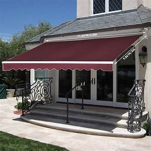 Sunsetter Awnings Dimensions