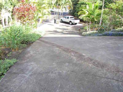 downhill driveway holualoaproperty