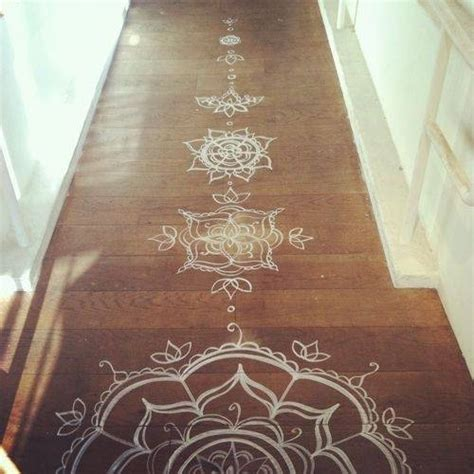 amazing painting ideas  wooden floor decoration