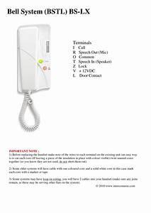 Bell Installation Instructions