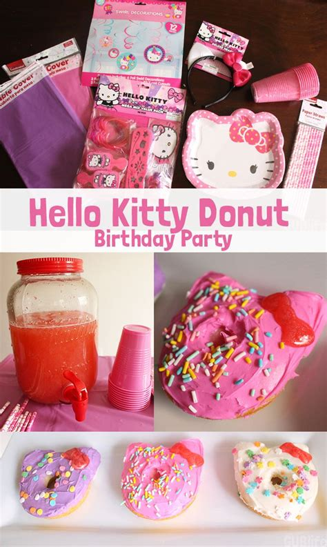 46 best donut party ideas images on 17 best images about hello birthday on