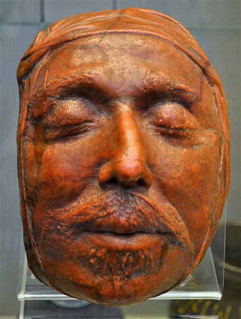 Death Masks Of The Famous People (12 Pics)  Hourly Updates