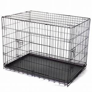 4239 collapsible metal dog crate cat cage with divider With 42 dog crate with divider