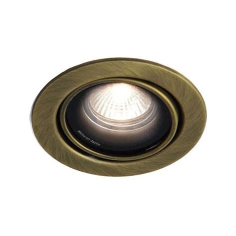 Bazz 300 Series 4 In Brushed Chrome Recessed Led Gu10