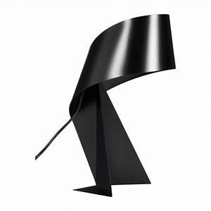 Lampe Galet Grand Modele : ribbon lampe de table grand mod le 52cm en m tal noir habitat ~ Teatrodelosmanantiales.com Idées de Décoration