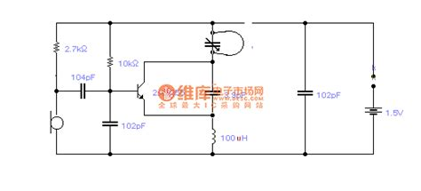 Simple Long Distance Wireless Microphone Circuit