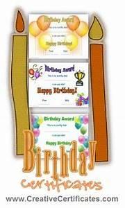 Generic Award Certificate Free Happy Birthday Certificate Template Customize Online