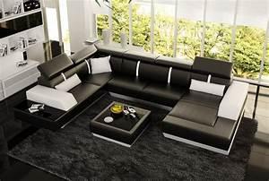 Couch U Form Modern : sofas und ledersofas le mans designersofa ecksofa bei jv m bel ~ Bigdaddyawards.com Haus und Dekorationen