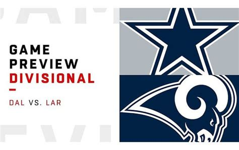 cowboys  rams nfl divisional playoffs betting picks