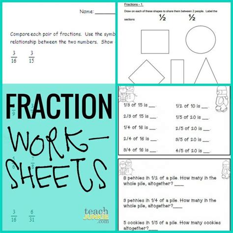 fractions 20 ready to go resources and activities