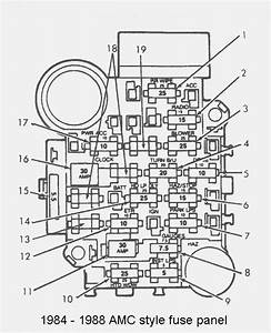 jeep xj fuse box diagram fuse box and wiring diagram With amp fuse box