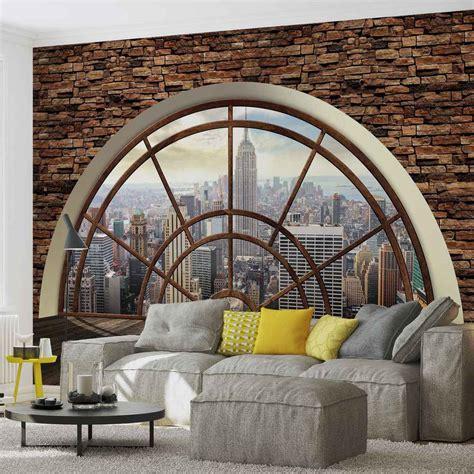 wall mural  york city skyline window xxl photo