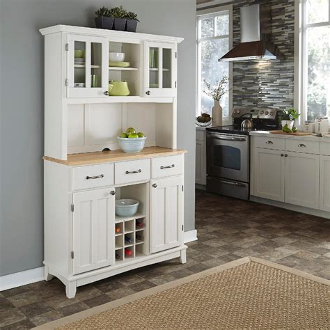 home styles dining room buffet hutch white