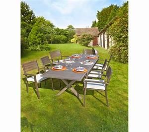 Meuble De Jardin Pas Cher : salon de jardin chez botanic 4 mobilier de jardin pas ~ Dailycaller-alerts.com Idées de Décoration