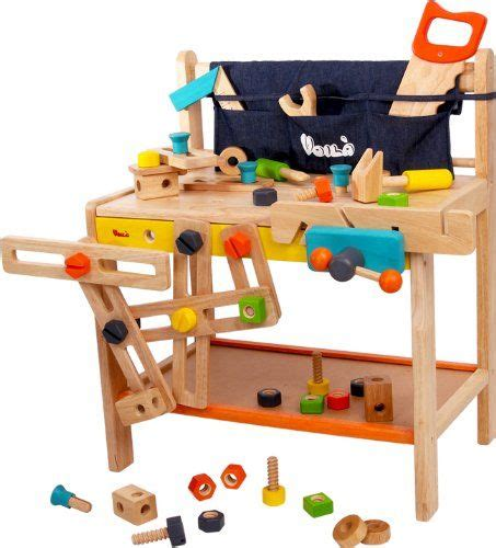 Boys Work Bench - 2 year boy toys montessori toys rugs cool toys