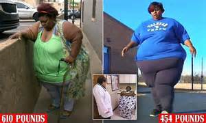 Obese 610lb Mother