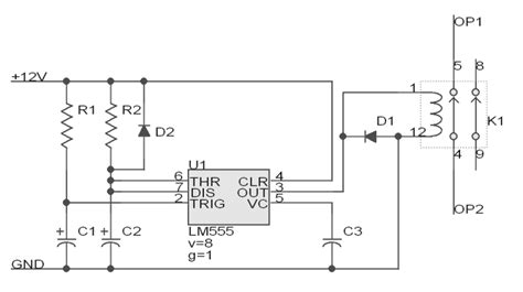 Schematic Diagram For My Garage Door Opener by Garage Door Opener Circuit Design Tom S Maker Site