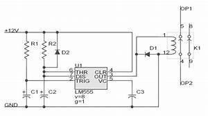 Garage Door Opener Circuit Design