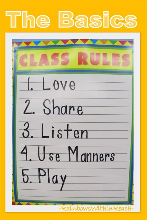 www rainbowswithinreach 676 | Class Rules Basics