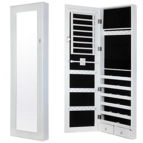 amazoncom homegear modern doorwall mounted mirrored